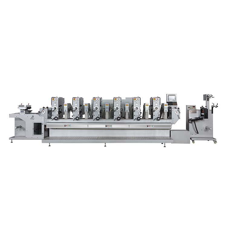富輝/Fuhui-300S 全自動間歇式商標輪轉印刷機
