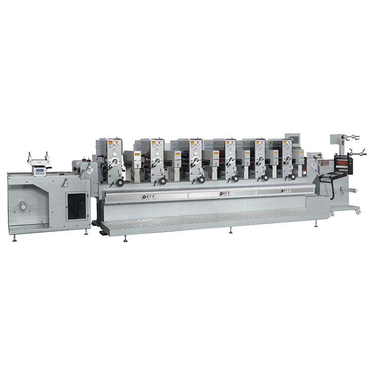富輝/fuhui-320S 全自動間歇式商標輪轉印刷機